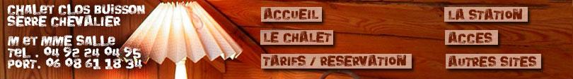 Chalet Clos Buisson, Serre Chevalier